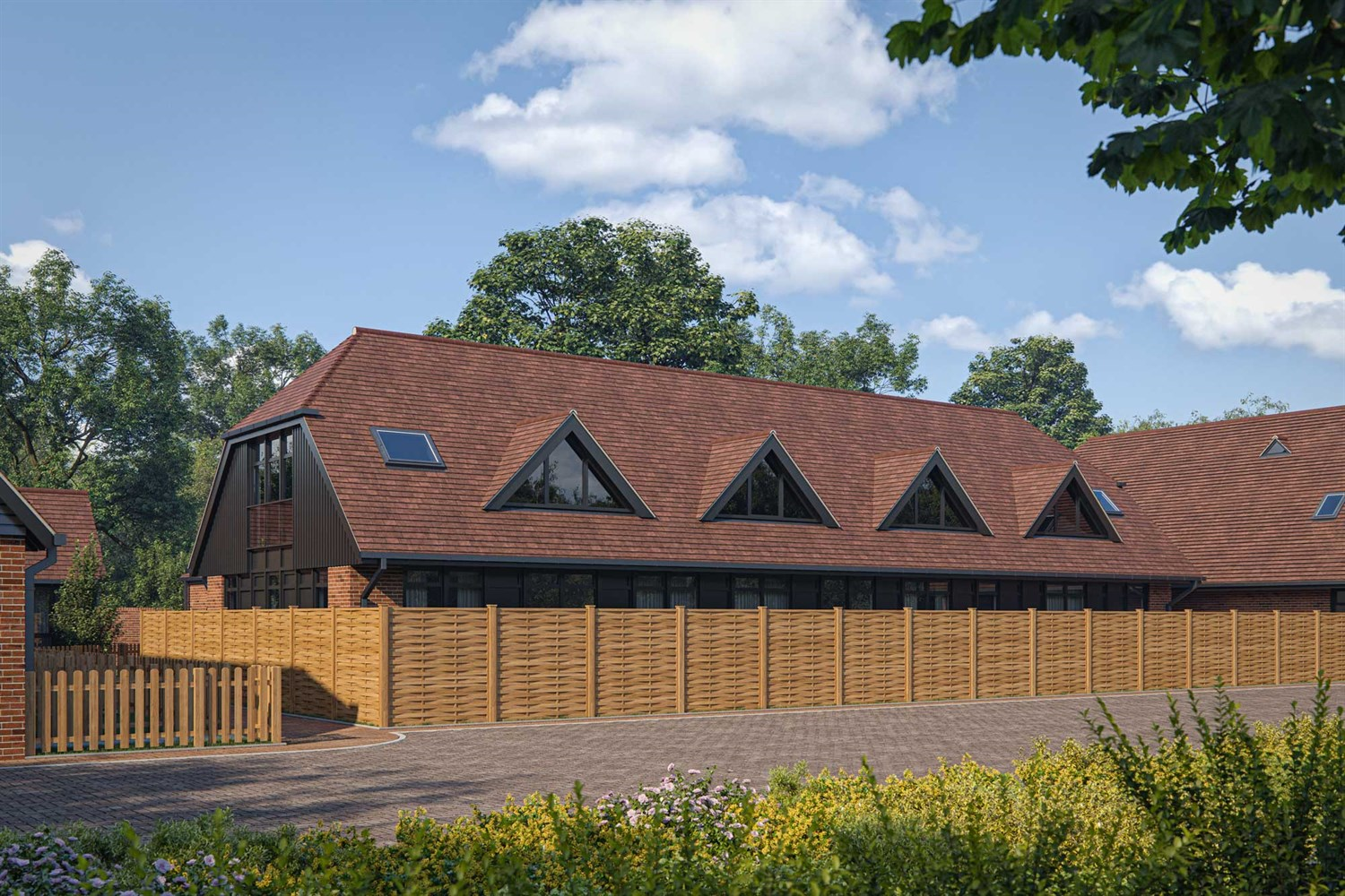 New Barn at Beansheaf Grange - 2 bed apartment, Calcot, Reading RG31 7BW