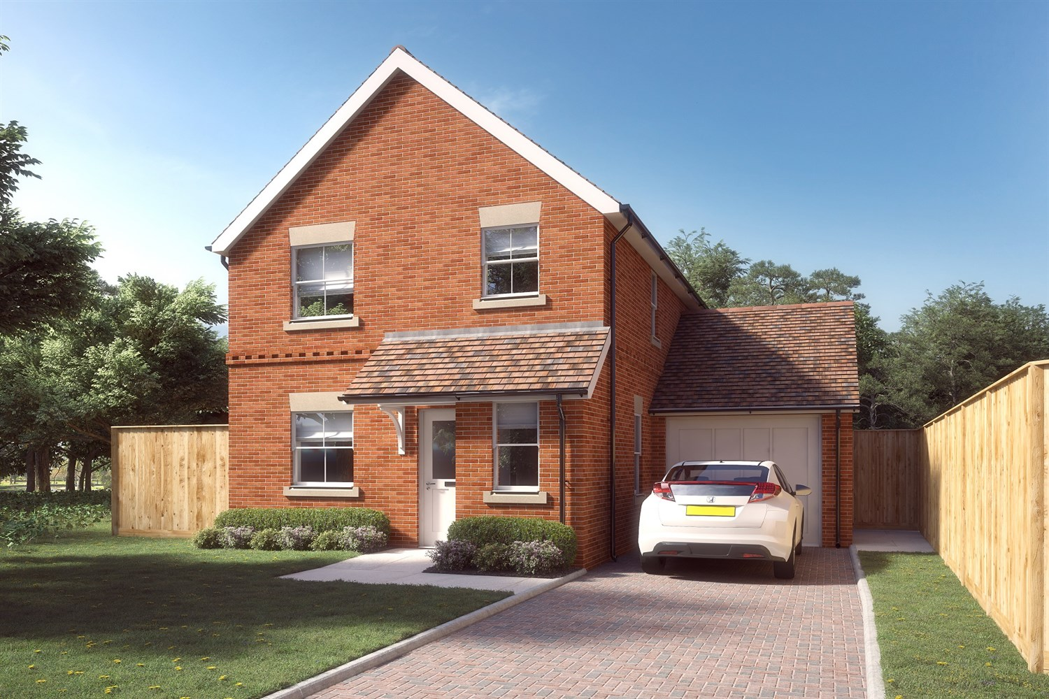 The Alder at Canberra Green - 3 bed detached, Charvil, RG10 9TS