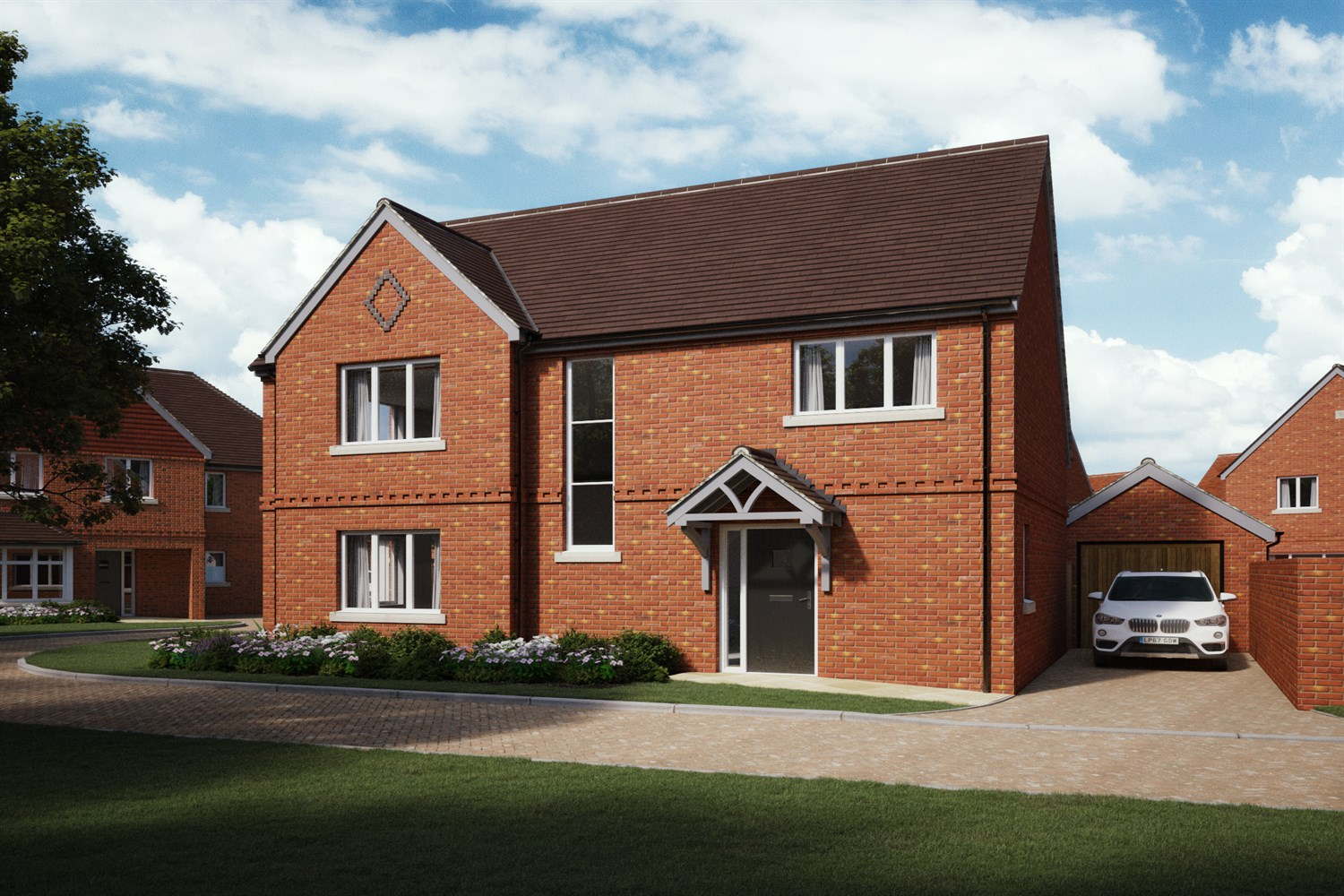The Oakdale at Stoneham Park - 3 bed detached, Tilehurst, Reading RG31 5UG