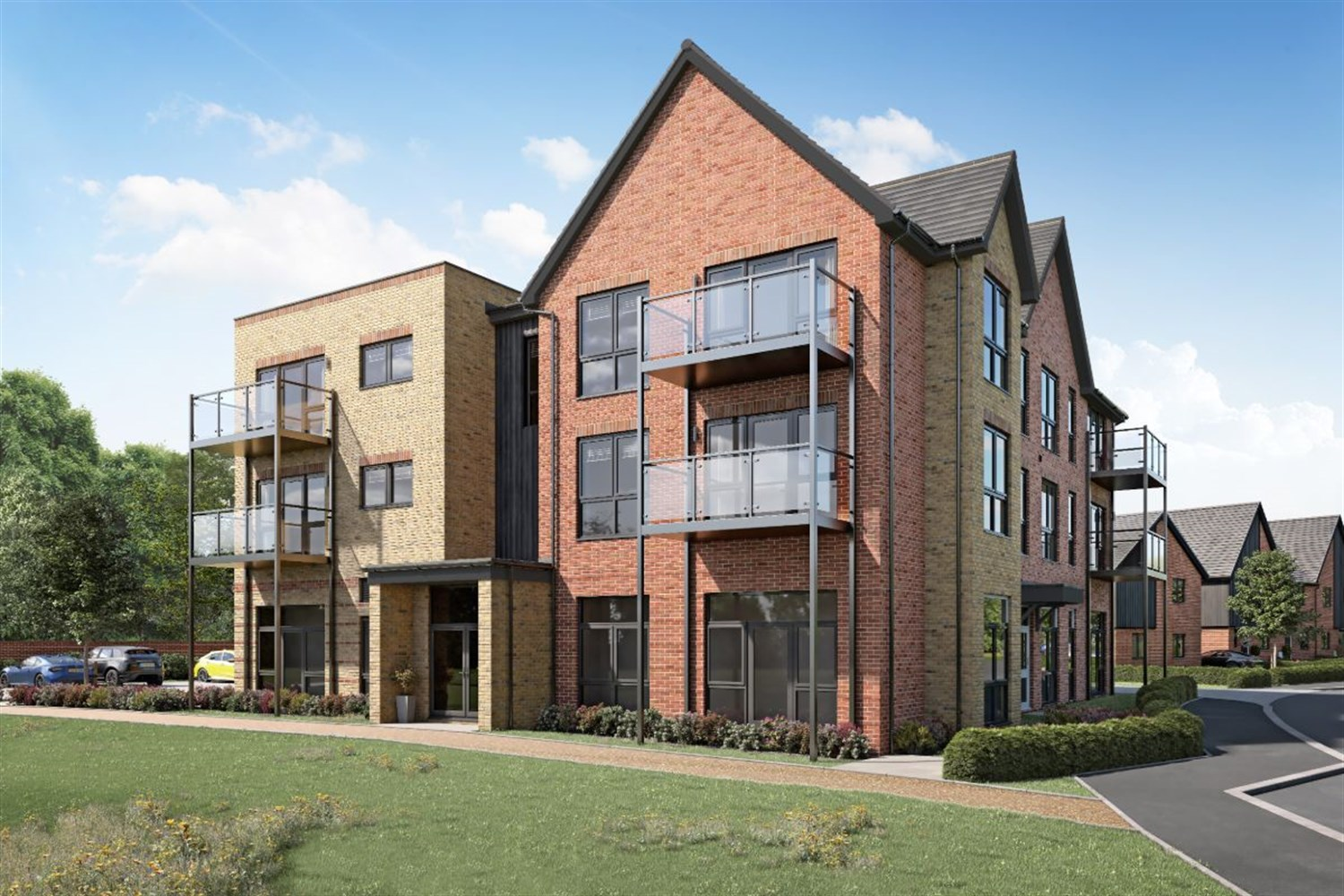 The Stables at Waterman's Gate - 1 bed apartment, Arborfield Green, RG2 9LN