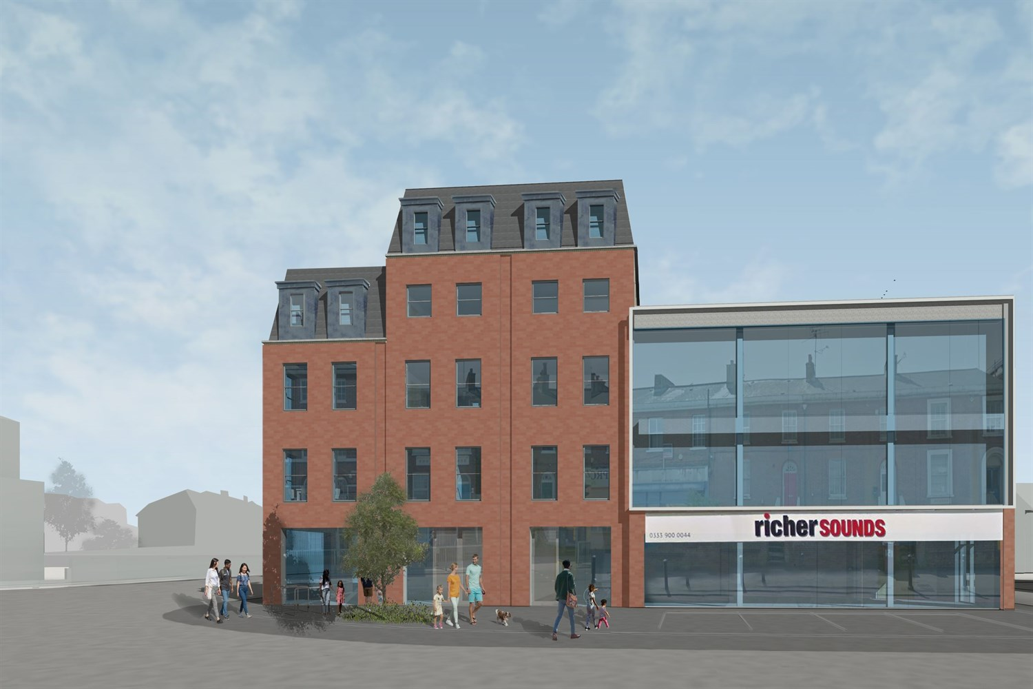 Bedford Road - Consented Site For Sale, Reading, RG1 7HS