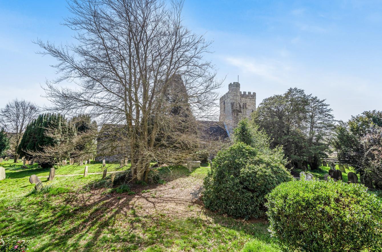 Views over Cowfold Church