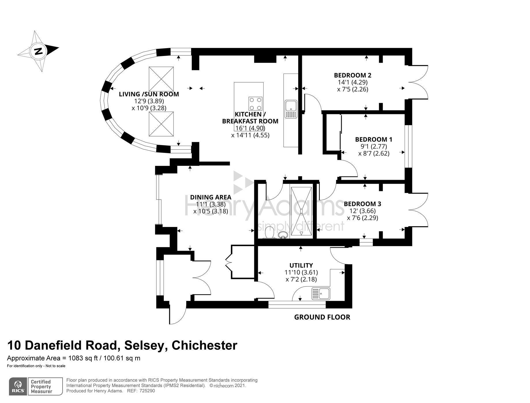 Danefield Road, Selsey, PO20 floorplans