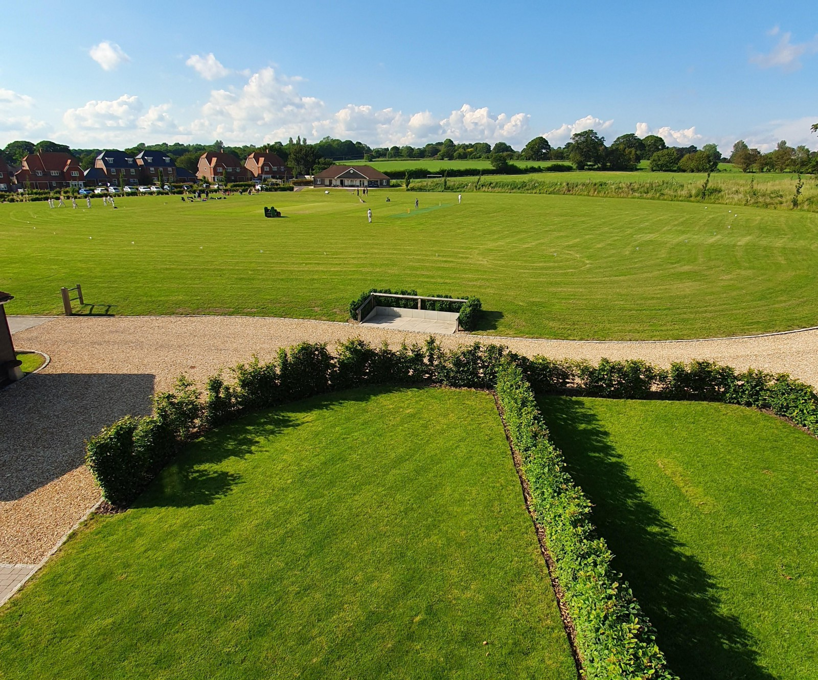 Outlook over Cricket Pitch