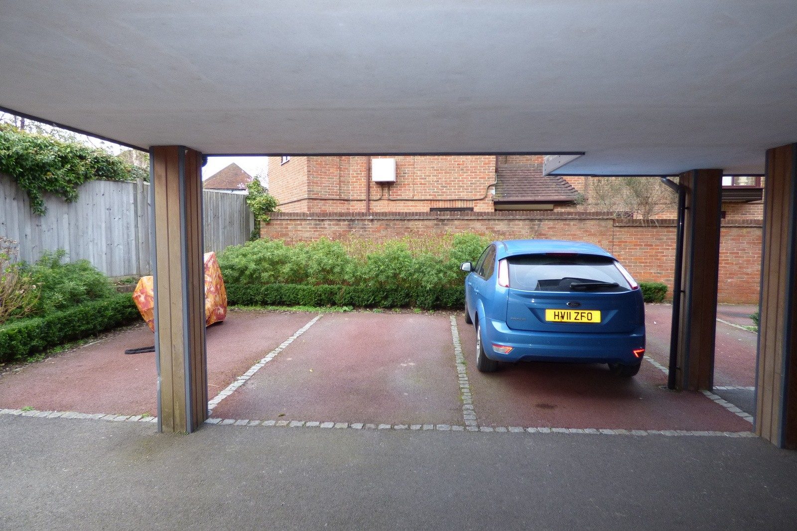 Allocated Parking Space