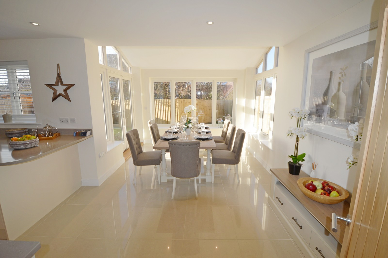 Dining area Property to let in Ropley