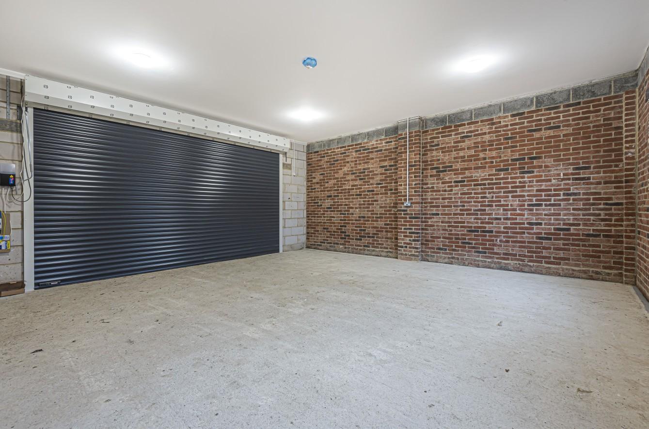 Very large garage