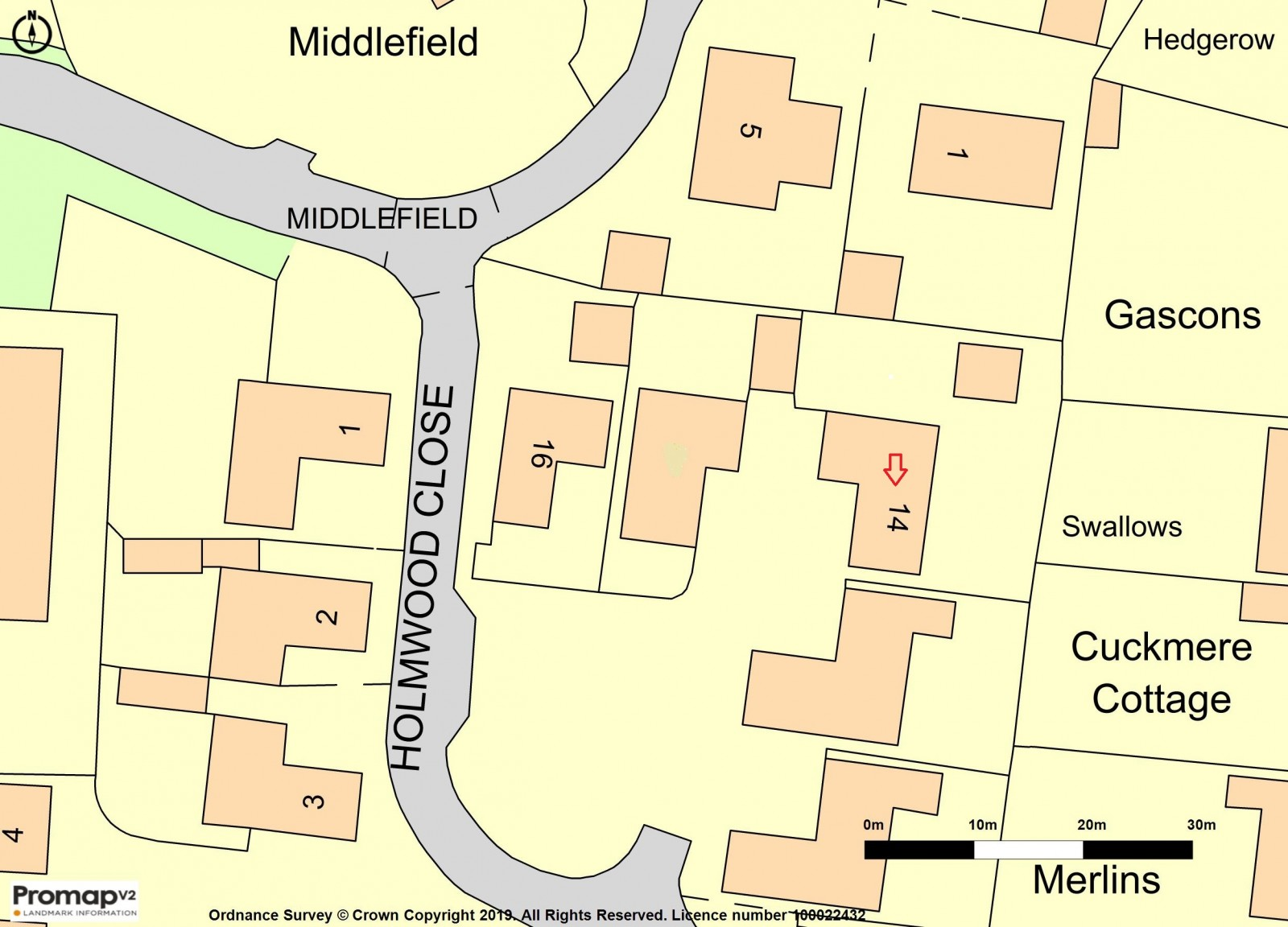 map plot + arrow