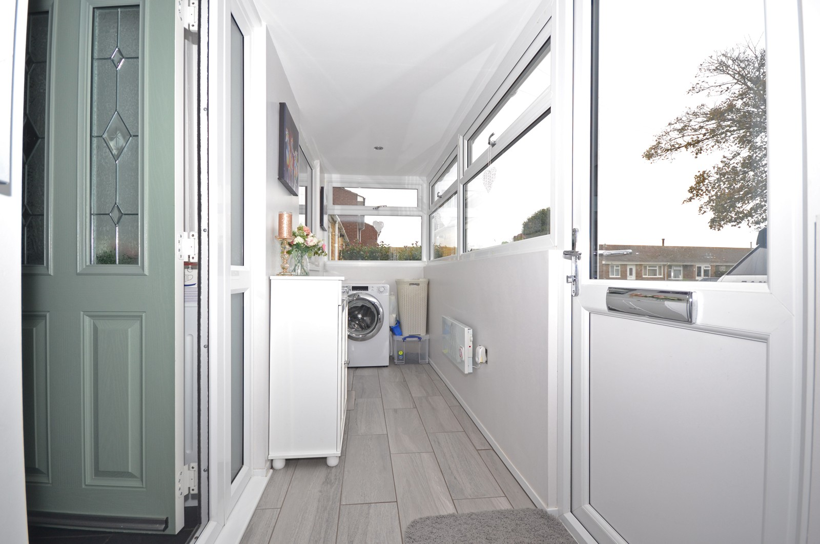 Entrance Porch/Utility Area